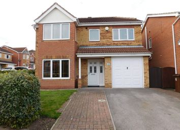 Thumbnail 4 bed detached house for sale in Grizedale Rise, Forest Town, Mansfield