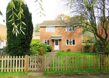 Thumbnail 4 bed detached house for sale in Valley Close, Colden Common, Winchester