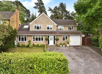 Thumbnail 4 bed detached house for sale in Arundel Road, Camberley, Surrey