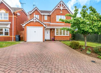 Thumbnail 4 bed detached house for sale in Battle Close, Wootton, Northampton