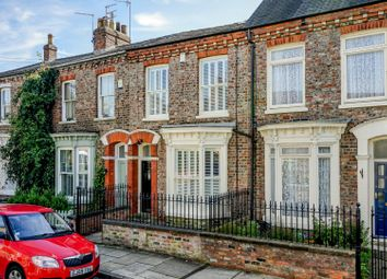 Thumbnail 2 bed terraced house for sale in Fairfax House, Victor Street, Bishophill, York