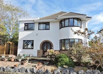 Thumbnail 4 bed detached house for sale in Caswell Avenue, Caswell, Swansea