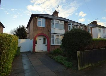Thumbnail 3 bed property for sale in Una Avenue, Braunstone Town, Leicester, Leicestershire