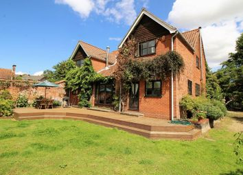 Thumbnail 5 bed detached house to rent in Norwich Road, Reepham, Norfolk