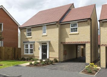 "Thumbnail 4 bedroom detached house for sale in ""Hurst"" at Bearscroft Lane, London Road, Godmanchester, Huntingdon"