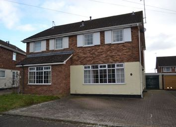 Thumbnail 3 bed semi-detached house for sale in Snetterton Close, Parklands, Northampton