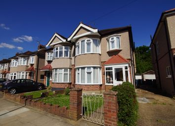 Thumbnail 3 bed semi-detached house to rent in Dorchester Avenue, Harrow, Middlesex
