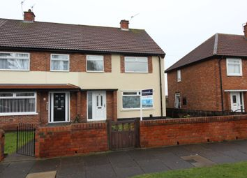 Thumbnail 3 bed semi-detached house to rent in The Causeway, Billingham