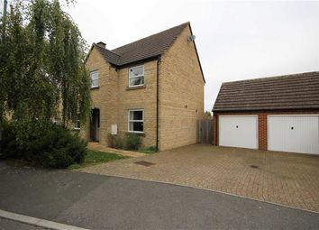 Thumbnail 4 bed detached house for sale in Grange Close, Wanborough, Swindon