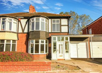 Thumbnail 3 bed semi-detached house to rent in Plessey Crescent, Whitley Bay