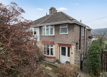 Thumbnail 3 bed semi-detached house for sale in Hill View Road, Bath, Somerset