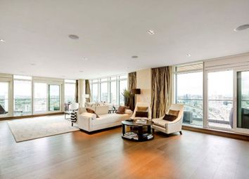 Thumbnail 3 bed flat to rent in Ascensis Tower, Battersea Reach
