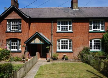 Thumbnail 3 bed terraced house for sale in New Road, Micheldever Station Winchester