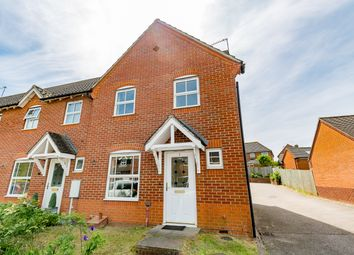 Thumbnail 3 bed end terrace house for sale in Millers Way, Northampton, Northamptonshire United Kingdom