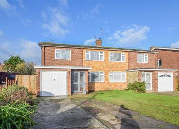Thumbnail 4 bed semi-detached house for sale in Linwood Road, Ware