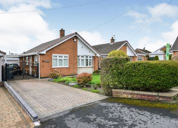 Thumbnail 2 bed detached bungalow for sale in Mansell Close, Eastwood, Nottingham