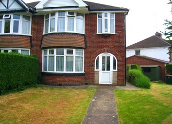 Thumbnail 3 bed semi-detached house for sale in Woodstock Road, Cheylesmore, Coventry