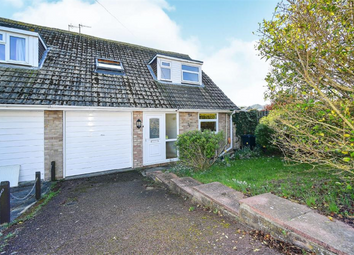 Thumbnail 3 bed semi-detached house for sale in Bishopstone Drive, Saltdean, East Sussex