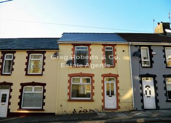 Thumbnail 2 bed terraced house for sale in Butleigh Terrace, Tredegar, Blaenau Gwent.