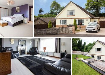 Thumbnail 4 bed detached bungalow for sale in St. Tudors View, Blackwood