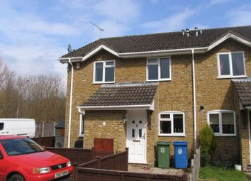Thumbnail 2 bed terraced house to rent in Hexham Close, Owlsmoor, Sandhurst