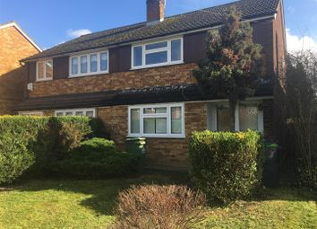 Thumbnail 3 bedroom semi-detached house to rent in Churchgate, Cheshunt, Waltham Cross