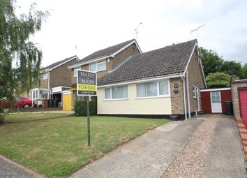 Thumbnail 2 bed bungalow for sale in Lockington Crescent, Stowmarket