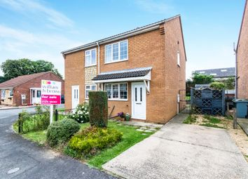 Thumbnail 2 bed semi-detached house for sale in Pasture Close, Colsterworth, Grantham