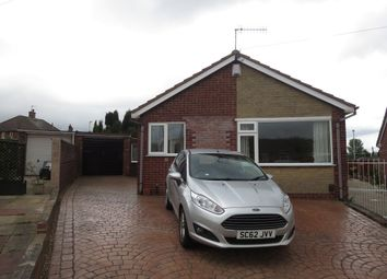 Thumbnail 2 bed detached bungalow for sale in Sunningdale Grove, Chesterton, Newcastle