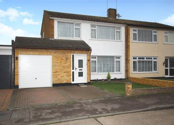 Thumbnail 4 bed semi-detached house for sale in Stuart Close, Great Wakering, Essex