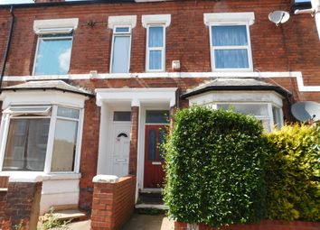Thumbnail 2 bed terraced house for sale in Byron Street, Mansfield