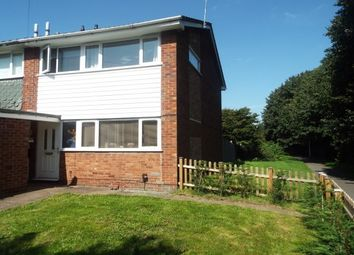 Thumbnail 3 bed property to rent in Bracken Way, Rugeley
