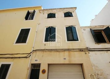 Thumbnail 4 bed town house for sale in Mahon Centro, Mahon, Illes Balears, Spain