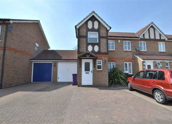 Thumbnail 2 bedroom end terrace house to rent in Blackdown Close, Great Ashby, Stevenage, Herts