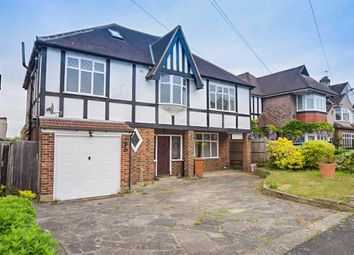 Thumbnail 5 bed detached house for sale in Tudor Avenue, Worcester Park