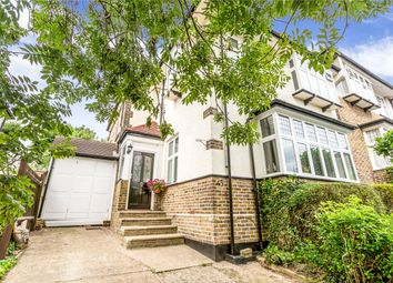Thumbnail 4 bed semi-detached house for sale in Slades Hill, Enfield