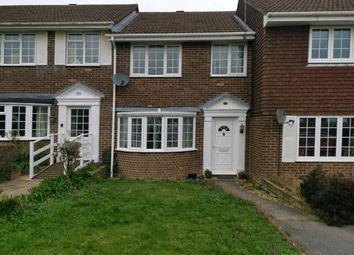 Thumbnail 3 bed terraced house to rent in Stempswood Way, Barnham, Bognor Regis, West Sussex.