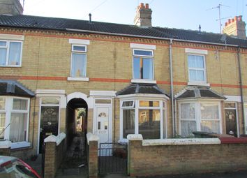 Thumbnail 3 bedroom terraced house for sale in Belsize Avenue, Peterborough