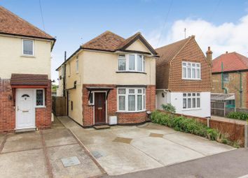 Thumbnail 3 bed detached house for sale in Douglas Avenue, Whitstable