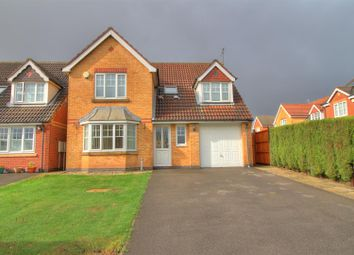 Thumbnail 4 bed detached house for sale in Spencer View, Ellistown, Coalville