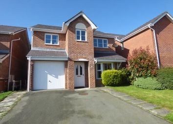 Thumbnail 4 bed detached house for sale in Maes Berea, Bangor, Gwynedd