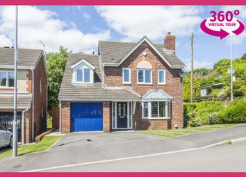 Thumbnail 4 bed detached house for sale in Bethesda Close, Rogerstone, Newport