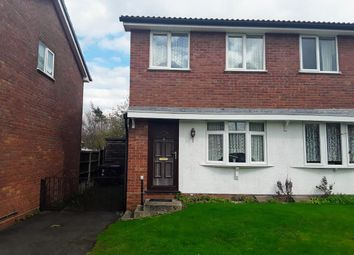 Thumbnail 2 bed semi-detached house for sale in Clares Lane Close, The Rock, Telford