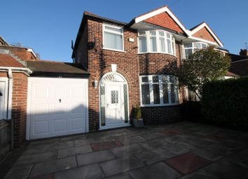 Thumbnail 3 bed semi-detached house for sale in Abingdon Road, Urmston, Manchester