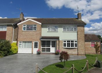 Thumbnail 5 bedroom detached house for sale in Byfield Drive, Wigston