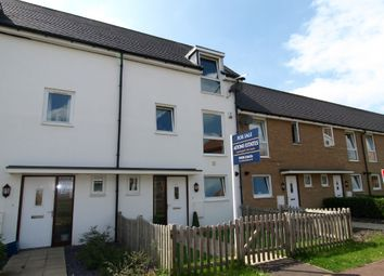 Thumbnail 4 bedroom town house for sale in Top Fair Furlong, Giffard Park, Milton Keynes