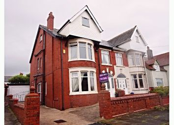 Thumbnail 4 bed semi-detached house for sale in Gosforth Road, Blackpool