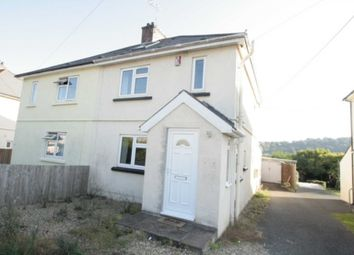 Thumbnail 4 bed semi-detached house for sale in Stone Barton Road, Plympton, Plymouth