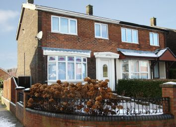 Thumbnail 3 bedroom semi-detached house for sale in Bathgate Square, Sunderland, Tyne And Wear