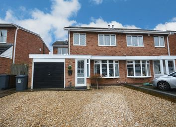 Thumbnail 4 bed semi-detached house for sale in Corley Close, Shirley, Solihull
